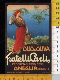 29874] IMPERIA - ONEGLIA - PUBBLICITARIA OLIO CARLI   eBay