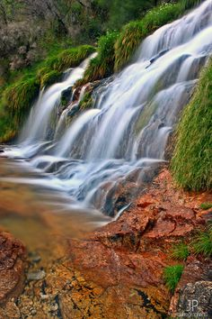 Waterfall in the Gerês Mountain, Portugal. by Joao Pedro
