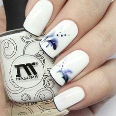 """nail design - лаки от @masura.ru """"Это Твой День"""", """"Черничный Сорбет"""""""