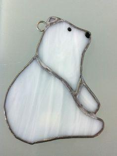 White Polar Bear Suncatcher