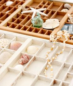 shadow boxes / letterpress trays. white or natural?