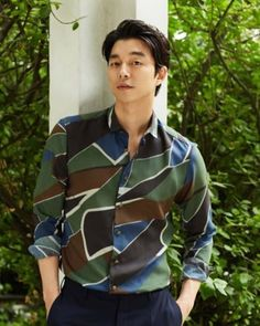 Gong Yoo Looking Mighty Fine in Summer 2016 Pictorials and Conquers Box Office with Train to Busan Gong Yoo Smile, Yoo Gong, Gong Li, Korean Star, Korean Men, Asian Actors, Korean Actors, Gong Yoo Shirtless, Train To Busan