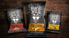 WILDROOTS FOODS | Buck Wild. Branding by Davis. Click through to read about the project on our website!