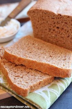 Great Harvest Honey Whole Wheat Bread Copycat - The absolute best wheat bread and it stays fresh longer than any other recipe I have tried.
