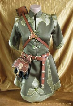 Lord of the Rings Elf Clothing | wood elves lord of the rings nature inspired clothing and garments ...