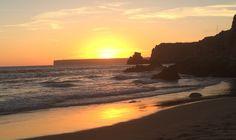 Sunset at the beach Praia do Beliche - Sagres, Algarve, Portugal   #sagres #praia #strand #beach #klippen #cliff #surfen #surfing #travel #portugal #algarve #ocean #europe #holiday #urlaub #reisen #traumstrand #beliche #westcoast #sunset #silhouette