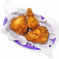 Fried Chicken - RR's lots 'o fried chicken recipes, including some by the Lee brothers!