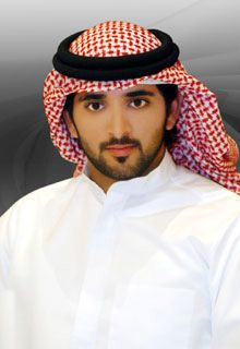 Hamdan bin Mohammed Al Maktoum is an accomplished Prince. He writes poetry and loves to ride horses.