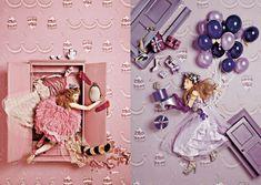 PIEBOOKS / Q-pot. Fashion Shoot, Fashion Art, Editorial Fashion, Big Photo, Photo Art, Christmas Editorial, Photocollage, Art Direction, Decoration