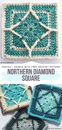 You might be interested in Beautiful Afghan Blocks as an inspiration. Crochet Afghans, Crochet Motif Patterns, Crochet Quilt, Crochet Blocks, Crochet Cushions, Granny Square Crochet Pattern, Crochet Diagram, Crochet Squares, Crochet Stitches