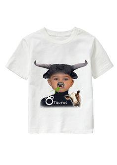 Taurus Boy personalized T-shirt www.ghigostyle.com