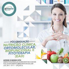 Pós-Graduação em Nutrição Clínica, Ortomolecular, Biofuncional e Fitoterapia - EaD. Prepare-se para o que realmente importa. INVISTA em Você! #pósgraduaçãoredentor #Nutrição #EaD  SAIBA MAIS SOBRE O CURSO ➡https://goo.gl/7Nz5M4