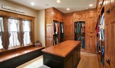 rustic walk in closet idea in log home of Dozens of Walk In Closet Organizers Lowes