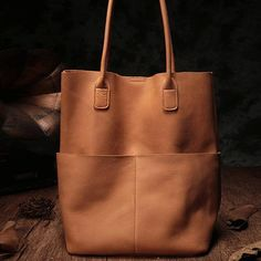 Bag leather Brown Leather Tote Bag Womens Tote Bags For Work Purse Brown Genuine Leather Totes Shopper Shoulder Bags Purses Black Leather Tote Bag, Brown Leather Totes, Leather Purses, Leather Handbags, Soft Leather, Tote Handbags, Purses And Handbags, Fashion Handbags, Luxury Handbags