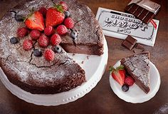LINDT Crémant Schokoladenkuchen | Schokoladige Rezepte | Die Welt von LINDT | Lindt Switzerland