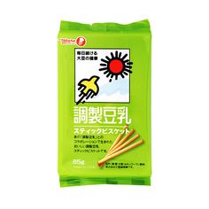 TAKARA Soybean Milk Tonyu Stick Biscuit with Isoflavone - 85g x 12 Bags - Takaski.com