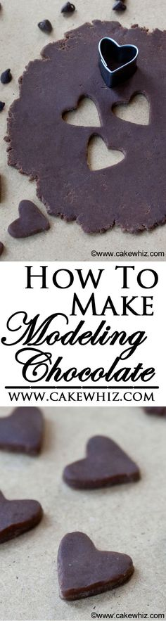 Learn how to make MODELING CHOCOLATE. It tastes just like tootsie rolls and it's a great alternative to fondant for cake and cupcake decorating. From cakewhiz.com
