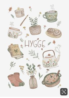 A collection of things that gives hygge. A collection of things that gives hygge. Art And Illustration, Posca Art, Journal Stickers, Cute Stickers, Free Printable Stickers, Doodle Art, Cute Drawings, Cute Art, Art Inspo