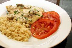 Chicken Marsala with Mushroom Cream Sauce Recipe