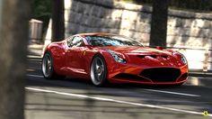 Ferrari 612 GTO By Sasha Selipanov  www.samirsadixov.com
