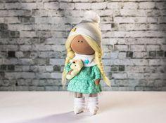 Doll Christy. Tilda doll. Textile doll. Soft toy.  by OwlsUa