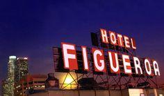 Hotel Figueroa in Los Angeles, CA