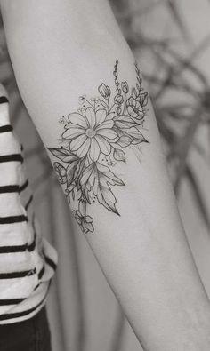 I tatuaggi con le margherite  (Foto 7/20) | PourFemme
