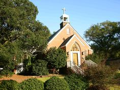 Historic Church in Southport, NC.