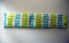 Heatable, freezable rice pillow how-to at Wise Craft Handmade.