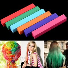 Non-Toxic Pastel Stick Hair Color Chalk