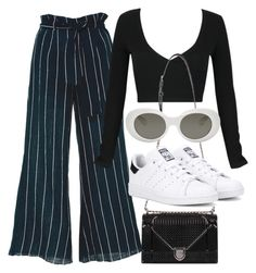 """""""Untitled #3521"""" by camilae97 ❤ liked on Polyvore featuring Faithfull, WithChic, adidas Originals and Acne Studios"""
