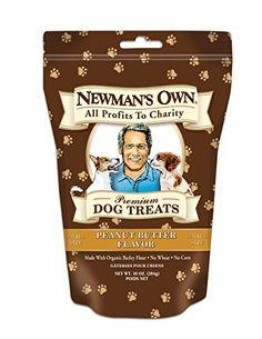 BeingDogs.com   Newman's Own Premium Dog Treats, Peanut Butter, Small Siz...