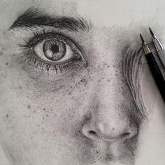 Os incríveis desenhos fotorrealistas a lápis de Monica Lee 02