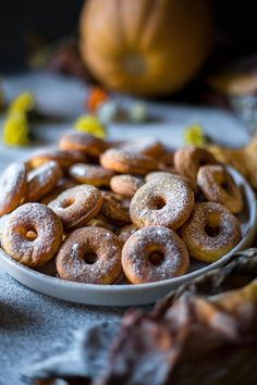 These Low FODMAP pumpkin donuts are super flavorful, rich, perfectly sweetened and very delicious. The autumn flavor is in every bite. Fodmap Recipes, Fodmap Foods, Fodmap Diet, Gluten Free Snacks, Gluten Free Baking, Fodmap Breakfast, Breakfast Recipes, Pumpkin Donuts Recipe, Cream Filled Donuts