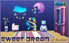 Ihelen Sims: Sticker Sweet Dream • Sims 4 Downloads