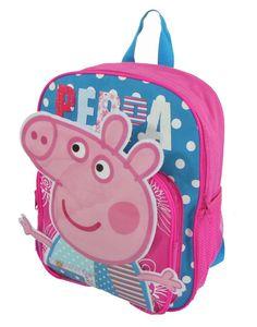 Amazon.com - Children Peppa Pig Backpacks Kids Cartoon School Bag Bookbag -