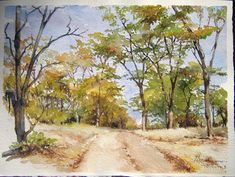 #2 This is how I imagine the road by her village to look like. She mentions that although it is scorching hot, there are always trees to shade you, which is symbolic of hardships.