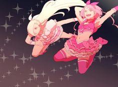 Sakura and Ino. / SakuIno