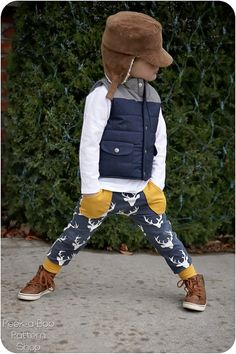 Junior Joggers: Joggers Sewing Pattern, Harem Pants Sewing Pattern
