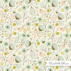 FloralValley :: Elizabeth Olwen #pattern #surfacepattern #floral