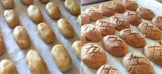 Traditional Greek Honey Cookies (Melomakarona) Melomakarona Recipe, Cookie Dough Ingredients, Types Of Honey, Oven Pan, Honey Cookies, Greek Olives, Freshly Squeezed Orange Juice, Cookie Calories