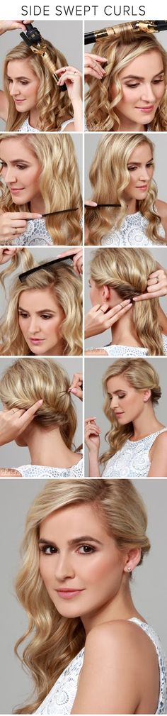 Swept Up Braided Rose Bun - Hairstyle Tutorial ~ Calgary, Edmonton, Toronto - Alberta, Canada