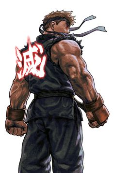 Street Fighter - Evil Ryu by UC *