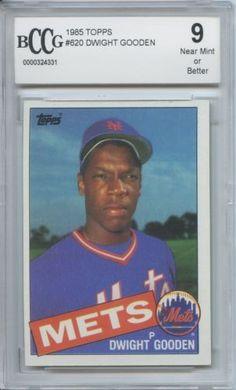 1985 Topps Dwight Gooden #620 BCCG 9