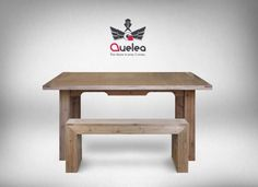 Pallet Table Glossy Wood And His Bench Benches & Chairs Desks & Tables