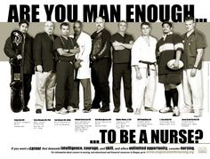 I am. But more importantly, I am HUMAN enough to be a nurse.