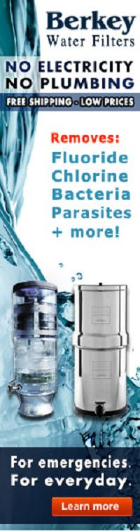 Berkey water filter systems are far superior to other filtration systems because they remove harmful pathogenic bacteria, cysts, parasites, and unhealthy chemical contaminants such as Fluoride and Chlorine to levels higher than 99.99%, while at the same time leaving in the essential minerals your body needs.