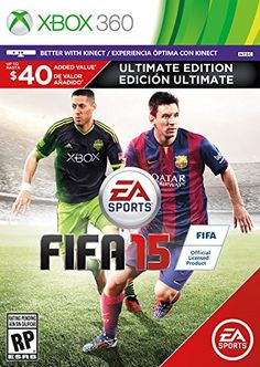 FIFA 15 Ultimate Edition  Xbox 360 *** For more information, visit image link. Note:It is Affiliate Link to Amazon.