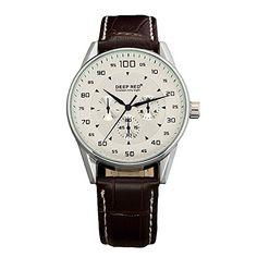 DeepRed Men's White Dial Quartz Watch Leather Strap Watches Men HUGO BOSS http://www.amazon.com/dp/B00SGZXIBY/ref=cm_sw_r_pi_dp_Hz17ub1CRCK6C