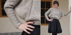 Beautifull knitted sweater with pattern